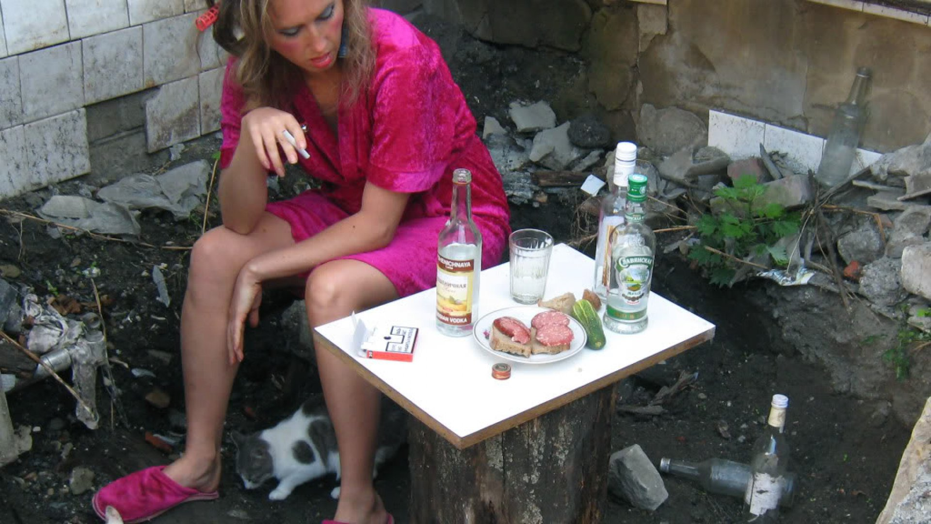 Картинки девушки алкашки