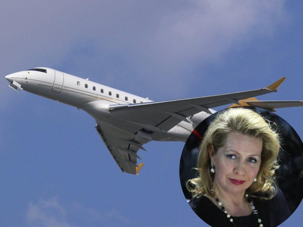 Самолет, на котором передвигается Светлана Медведева, улетел в Германию
