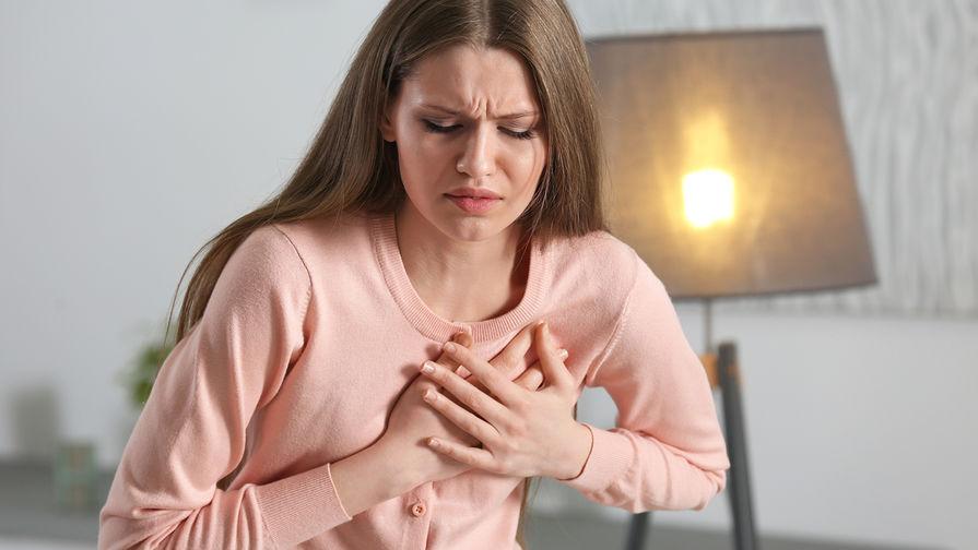 Сердечный приступ у женщин