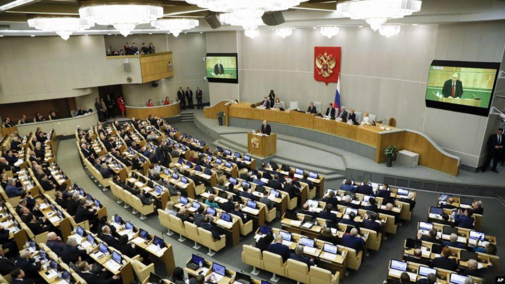 За один день Госдума приняла свыше десяти запретительных законов